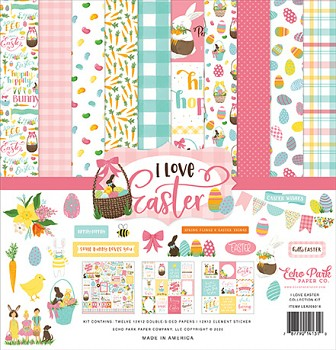 I Love Easter 12x12 / Sada papierov