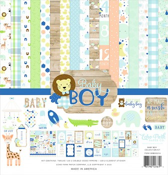 Baby Boy 12x12 / Collection Kit