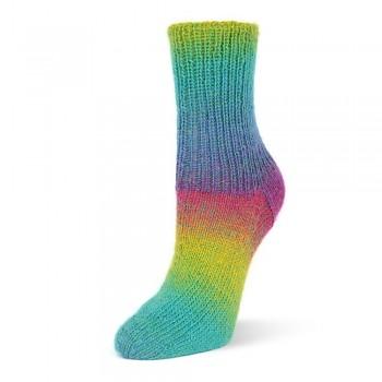 Flotte Socke 4f. Kolibri / 100g / 6204 - rainbow