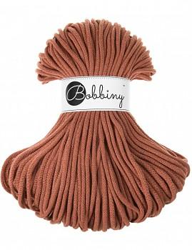Шнурок Bobbiny Premium 5mm / 100m / Terracotta