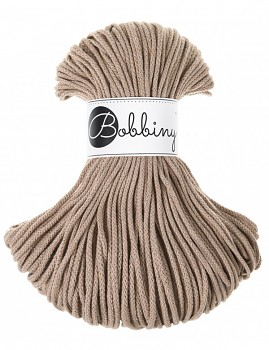 Bobbiny Cotton Cord Junior 3mm / 100m / Sand