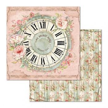 Scrapbookingpapier / 12x12 / Clock