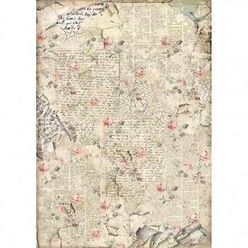 Rice decoupage paper A3 / Sound of Roses