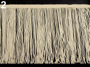 Chainette Fringe width 17 cm