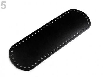Dno na kabelku 10x30cm / čierne