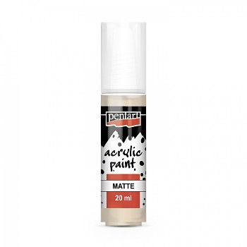 Pentart Acrylfarbe matt 20ml / beige