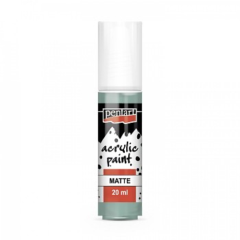 Pentart acrylic paint matte 20 ml / mint