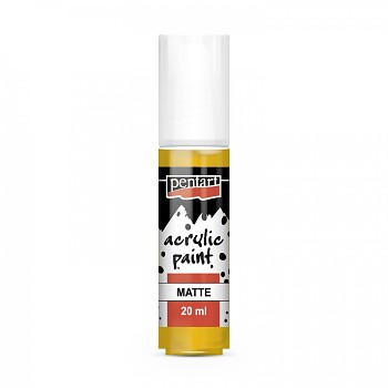 Pentart acrylic paint matte 20 ml / sun yellow