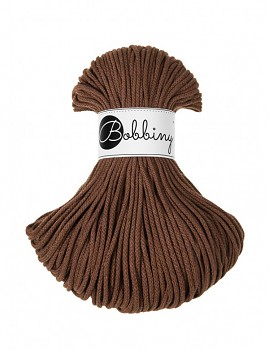 Bobbiny Cotton Cord Junior 3mm / 100m / Mokka
