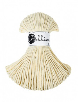 Bobbiny Cotton Cord Junior 3mm / 100m / Blonde