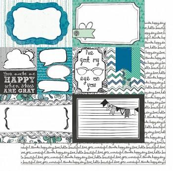 Zip-a-dee-doodle / Collagel Paper
