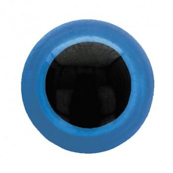 Bezpečnostsné oči / 10mm / 10ks / modré