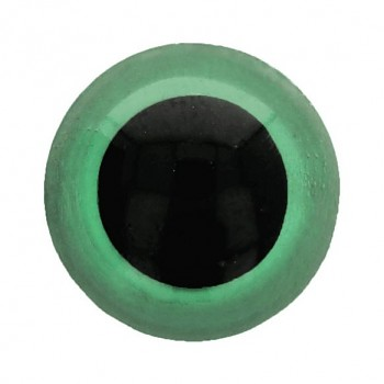 Bezpečnostsné oči / 10mm / 8ks / zelené