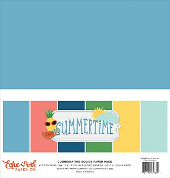 Summertime 12x12 / Solids Kit