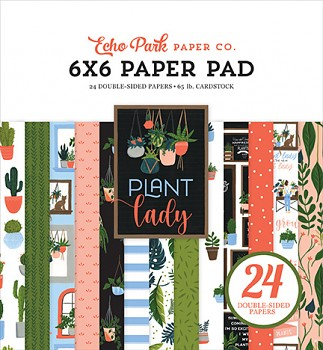 Plant Lady / 6x6 / Sada papierov
