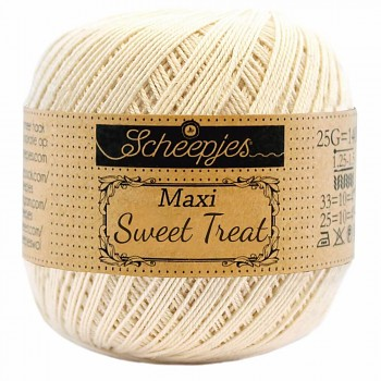 Scheepjes Maxi Sweet Treat 25g / 130 Old Lace