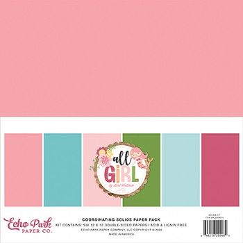 All Girl 12x12 / Solids Kit