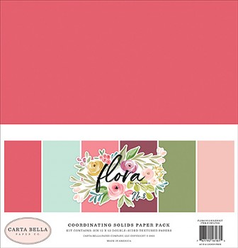 Flora No.3 12x12 / Solids Kit