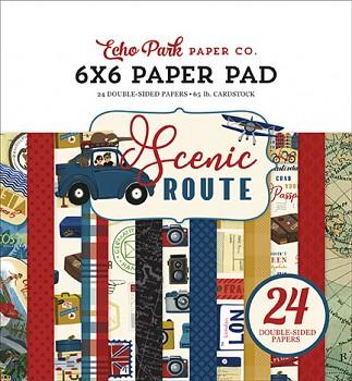 Scenic Route / 6x6 / Sada papierov