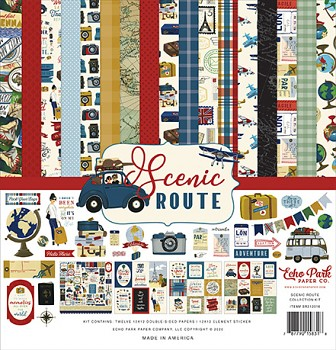 Scenic Route 12x12 / Collection Kit
