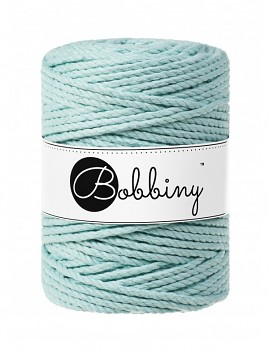 Macramé cord 3ply / 5mm / 100m / Mint