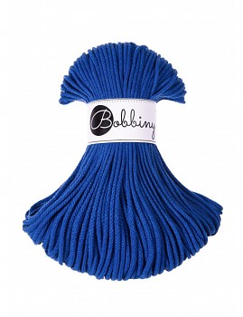 Bobbiny Cotton Cord Junior 3mm / 100m / Classic Blue