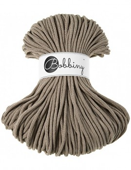 Bobbiny Cotton Cord Premium 5mm / 100m / Coffee