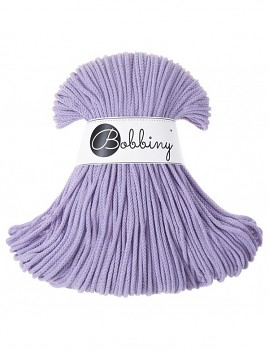 Bobbiny Cotton Cord Junior 3mm / 100m / Lavender