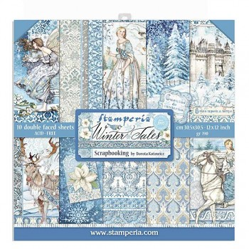 """Winter Tales / 12x12"""" / Paper Pack"""