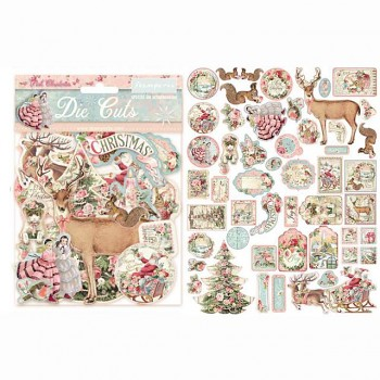 Die Cuts / Pink Christmas