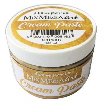 Cream Paste metallic 150ml Gold