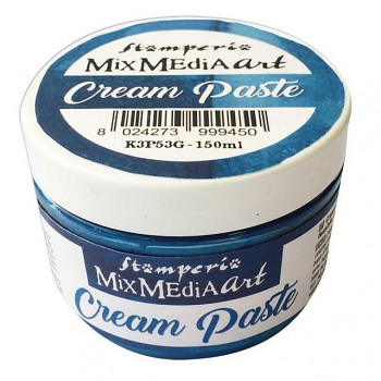 Cream Paste metallic 150ml Blue