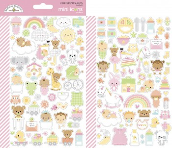 Bundle of Joy Mini Icons Stickers / Set samolepiek