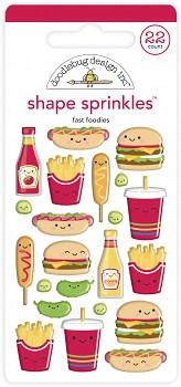 Perfect Combo Shape Sprinkles / vypuklé samolepky