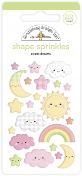 Наклейки / Sweet Dreams Shape Sprinkles