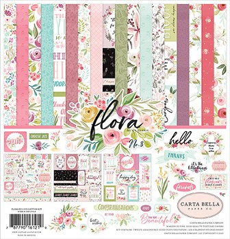 Flora No.3 12x12 / Collection Kit