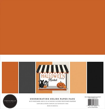 Halloween Market 12x12 / Solids Kit