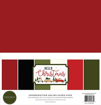 Hello Christmas 12x12 / Solids Kit