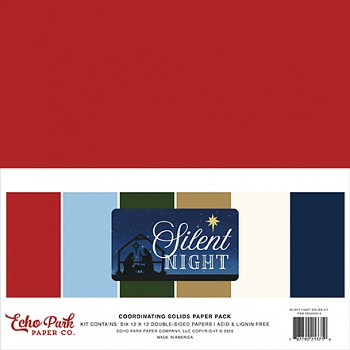 Silent Night 12x12 / Solids Kit