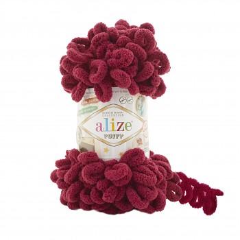 Alize Puffy / 100g / 107 Bordeaux