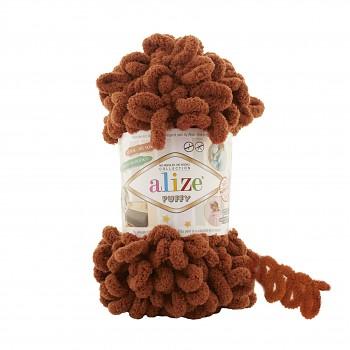 Alize Puffy / 100g / 597 Cinnamon