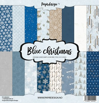 Blue Christmas 12x12 / Paper Pack