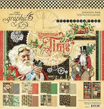 Christmas Time / 12x12 / Sada papierov
