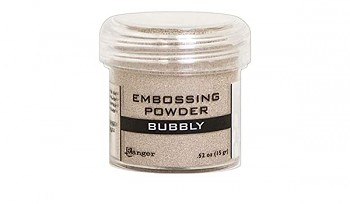 Embossing Powder metallic / Bubbly