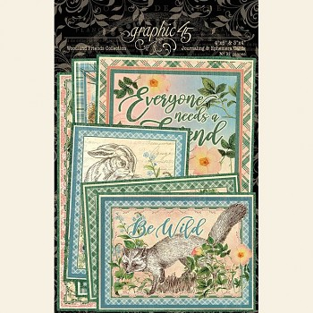 Woodland Friends / 4x6 Ephemera Cards