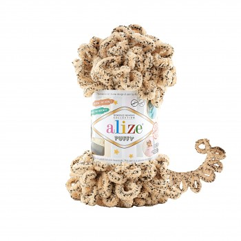 Alize Puffy / 100g / 715 Cheetah