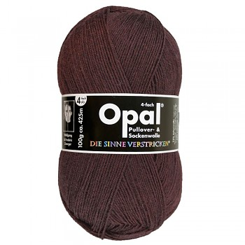 Opal Uni 4-ply / 100g / 5192 dark brown