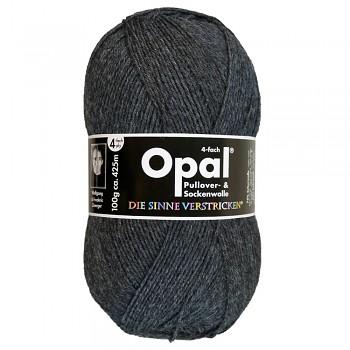 Opal Uni 4-ply / 100g / 5191 anthracite melange