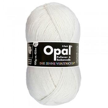 Opal Uni 4-ply / 100g / 2620 biela