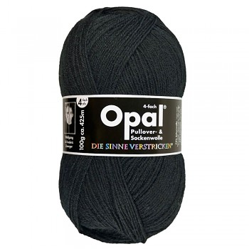 Opal Uni 4-ply / 100g / 2619 čierna